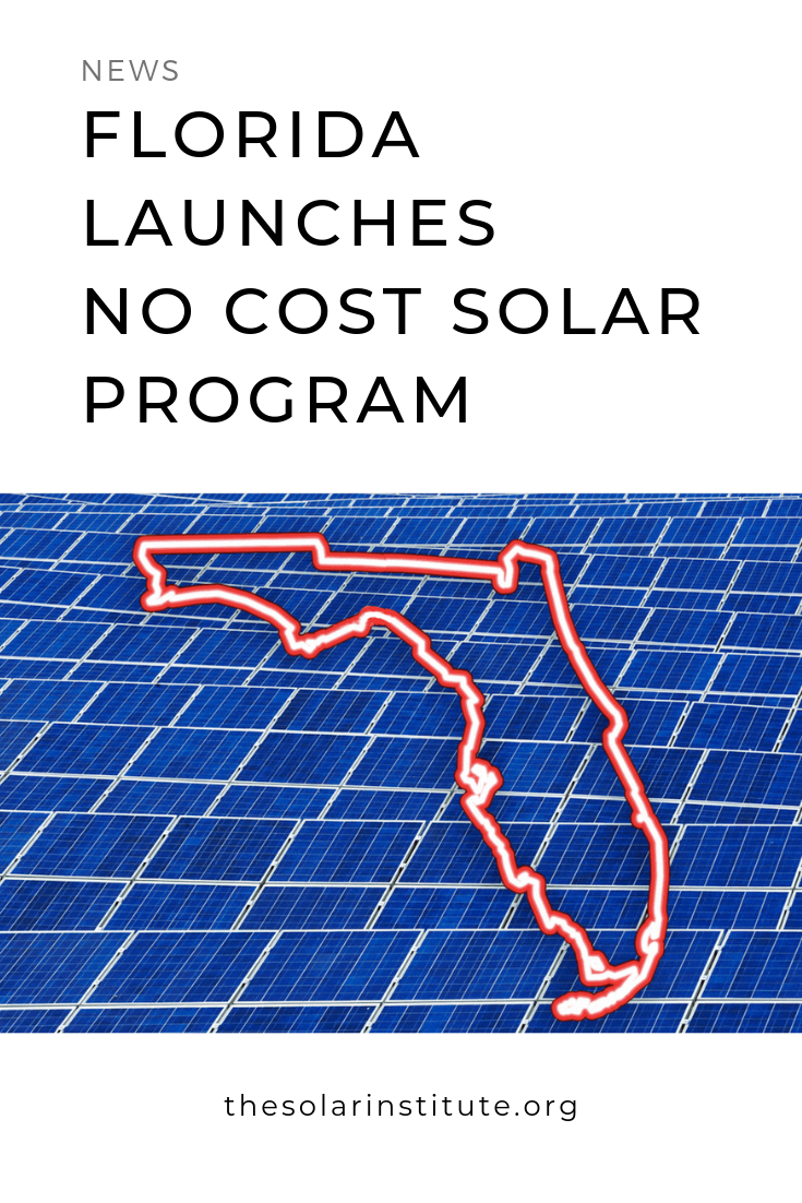 Florida Homeowners Go Solar At No Cost See If You Qualify Solar Energy Solutions Solar Panels Solar Technology