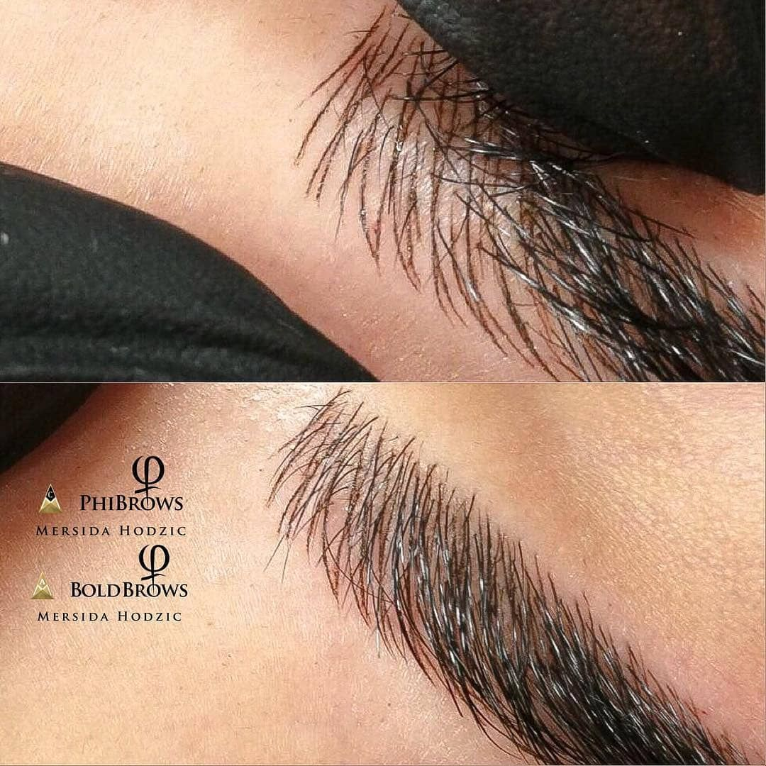 """62f373164ff Branko Babic PhiAcademy on Instagram: """"Making perfectly natural looking  eyebrows is our goal. If you want to find out something more about PhiBrows  ..."""