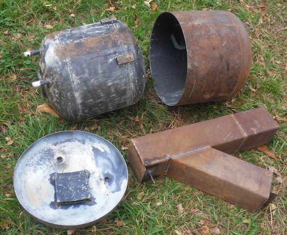 chauffe eau bois sur rocket stove bricolage pinterest chauffe eau chauffe et outils. Black Bedroom Furniture Sets. Home Design Ideas