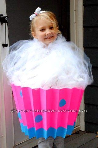 Cute Last-Minute Cupcake Costume  sc 1 st  Pinterest & Cute Last-Minute Cupcake Costume | Pinterest | Cupcake costume ...