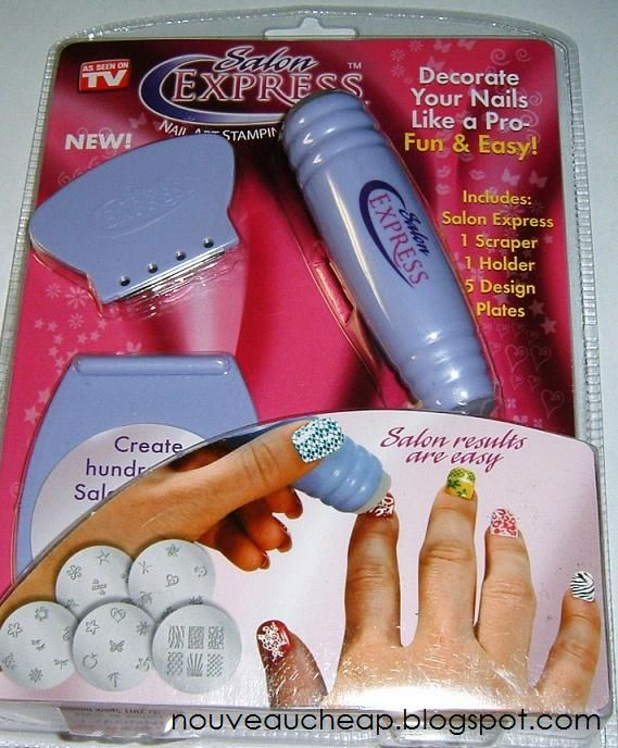 as seen on tv products fingernails   As Seen On TV Salon Express ...
