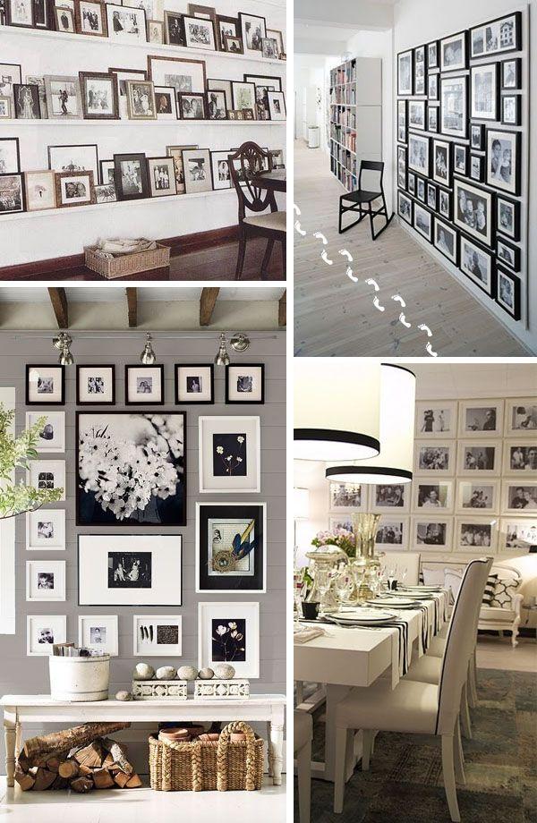 paredes con fotos no nos cansamos