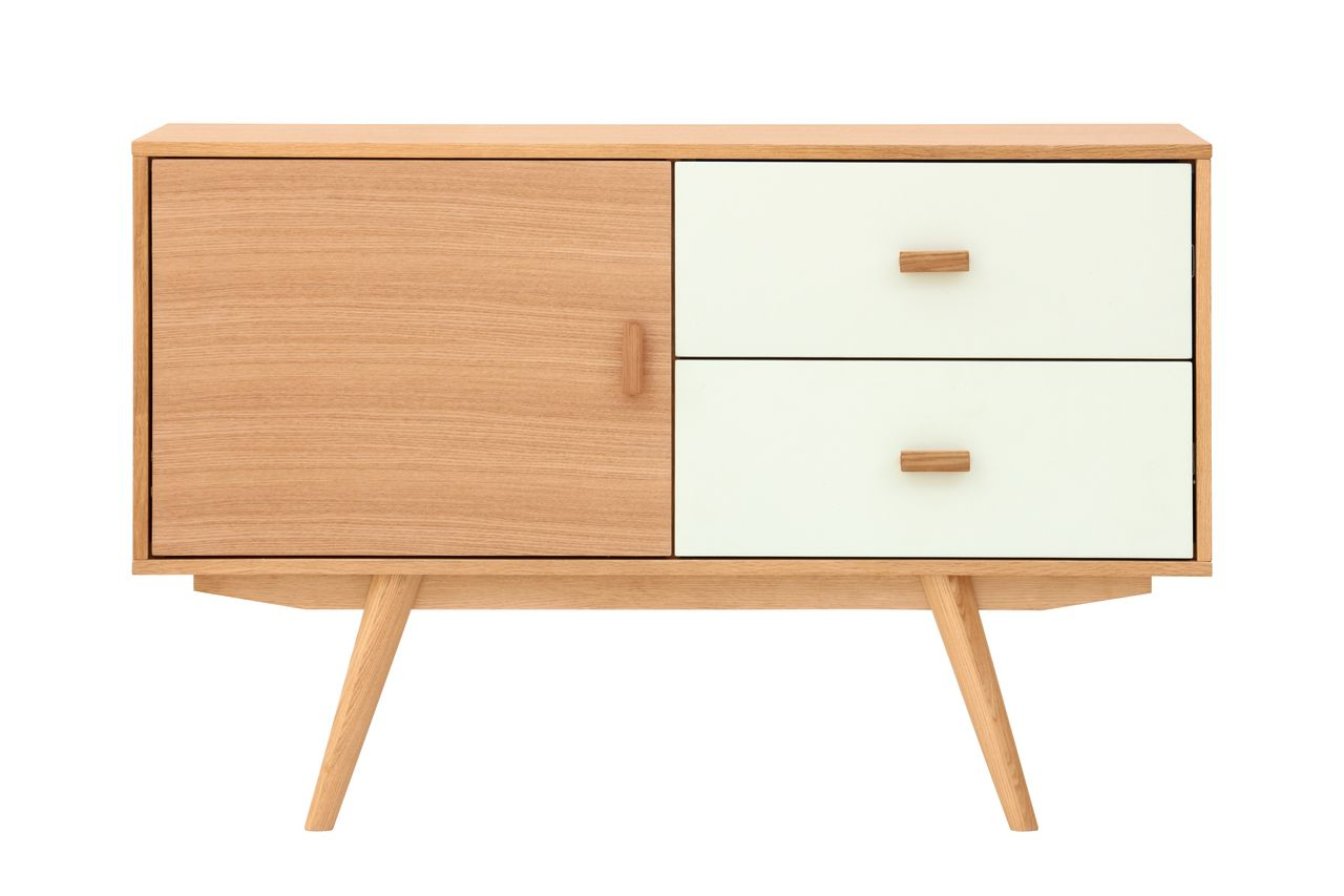 Furnish Com Au Orsolo Ash Door And White Drawers Scandi Sideboard 379 00 Http Scandinavian Furniture Sideboard Scandinavian Scandinavian Furniture Design