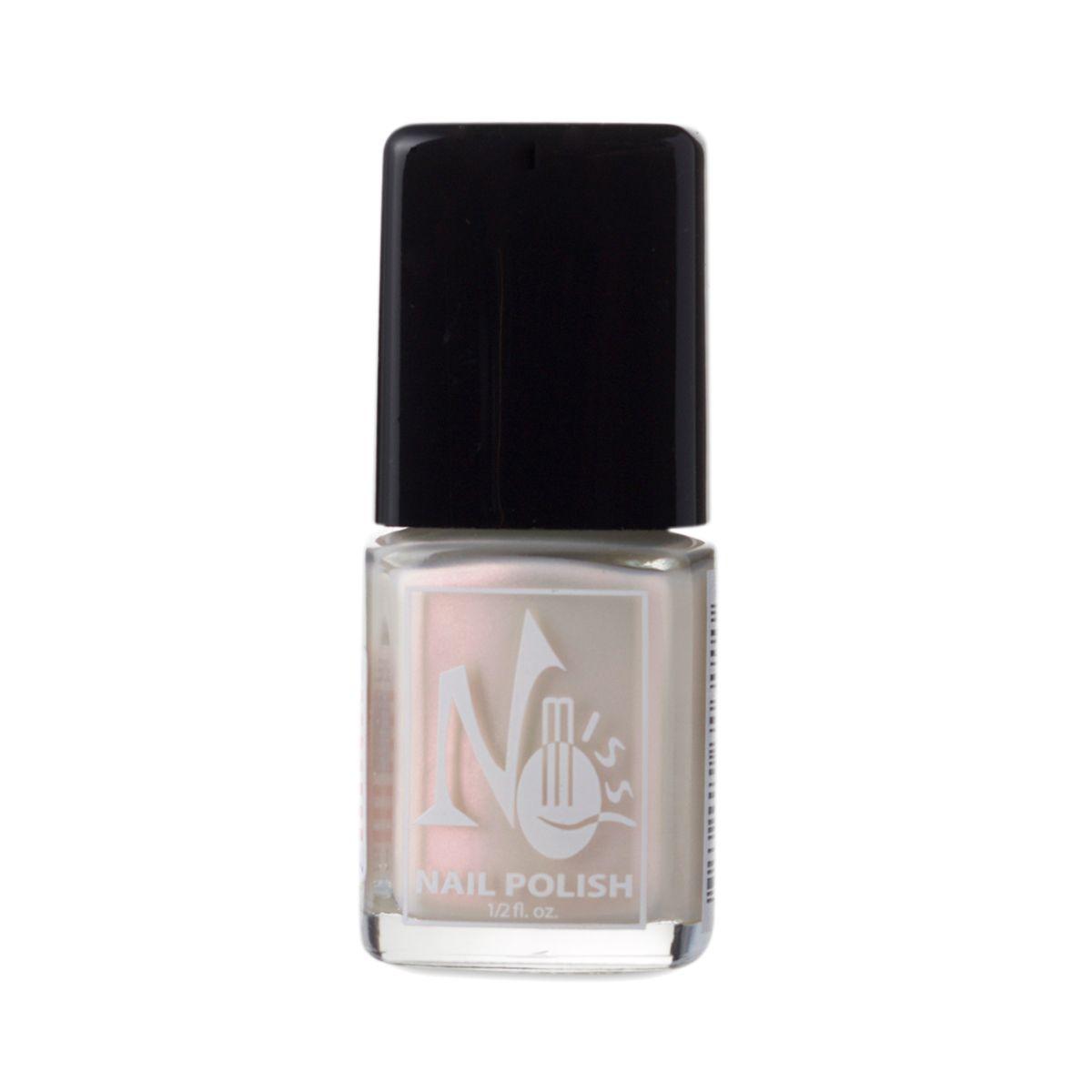 No Miss Cosmetics Boca Ice Pink One Coat Nail Polish 5 Oz