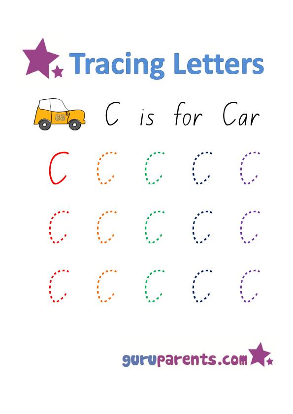 Letter C Worksheets | Homeschooldressage.com