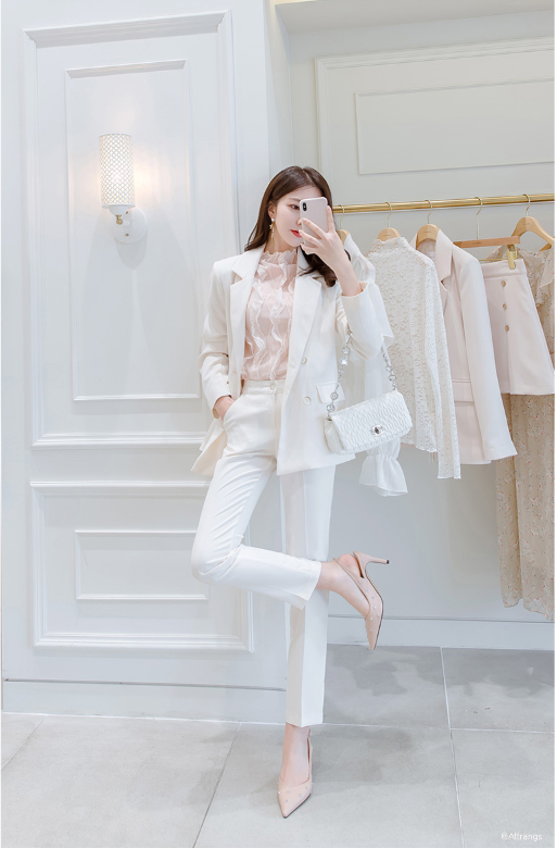 Baju Kerja Wanita Korea Style