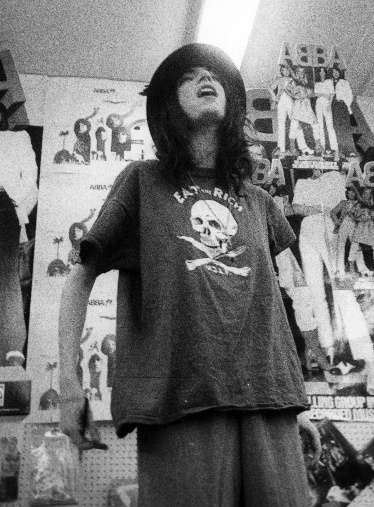 Patti Smith Photographed By Godlis 1977 Eat The Rich