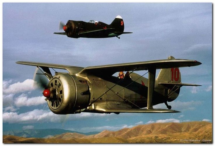 Polikarpov I-153 and I-16 | by Net-Maquettes