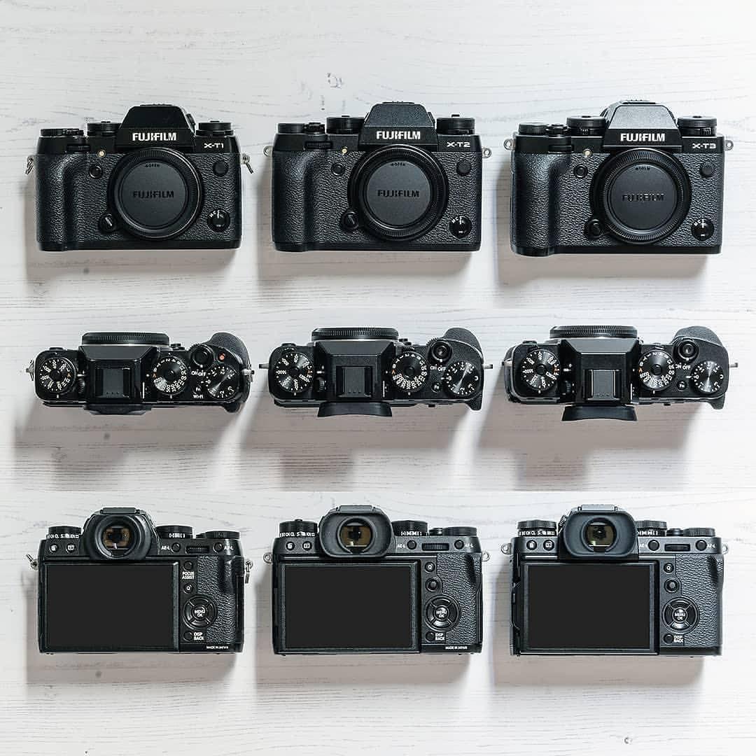 "fujifilm_Xseries community on Instagram: ""All three Fujifilm"
