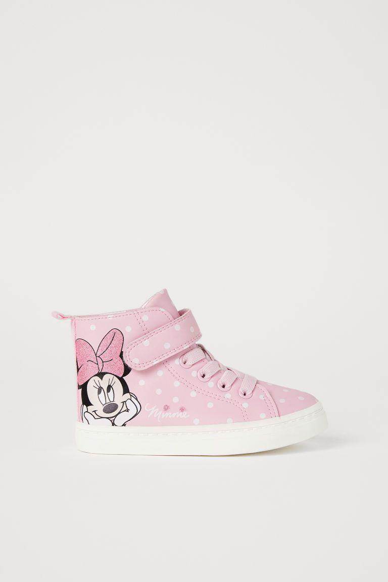 350e7aa63f051e High Tops - Light pink Minnie Mouse -