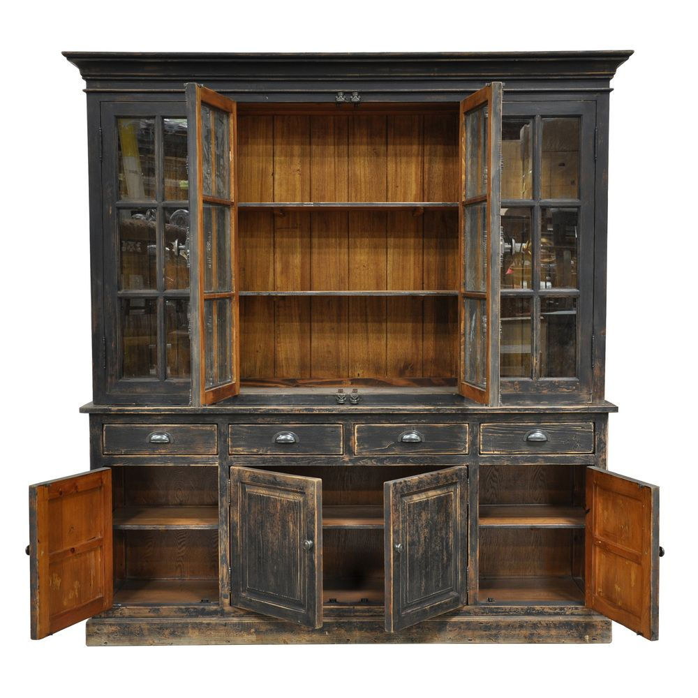 Rustic Kitchen Hutch: Overstock™ Shopping