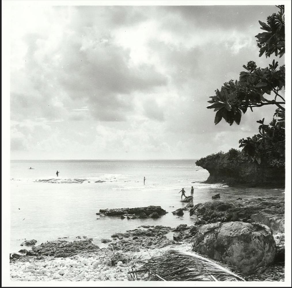 Cook Islands Rarotonga Beach: Weaving, Rarotonga 1969 In 2020