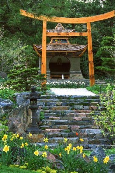japanese garden japanese garden Pinterest Gardens
