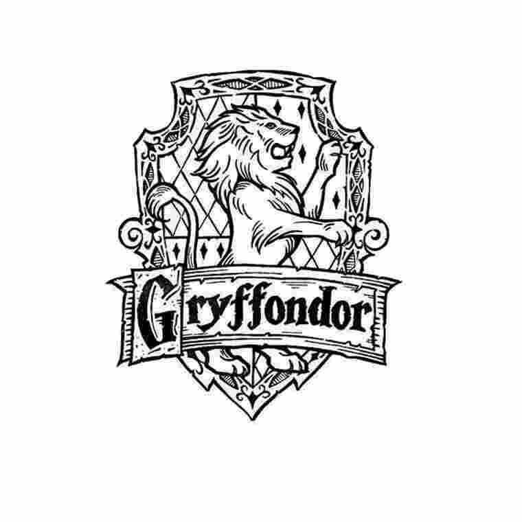 Harry Potter Gryffindor Crest Coloring Pages Since The Release Of The First Novel Harr Harry Potter Coloring Pages Harry Potter Crest Harry Potter Printables
