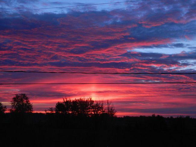Lev e du jour maskinong qc coucher de soleil pinterest photos - Heure coucher soleil aujourd hui ...