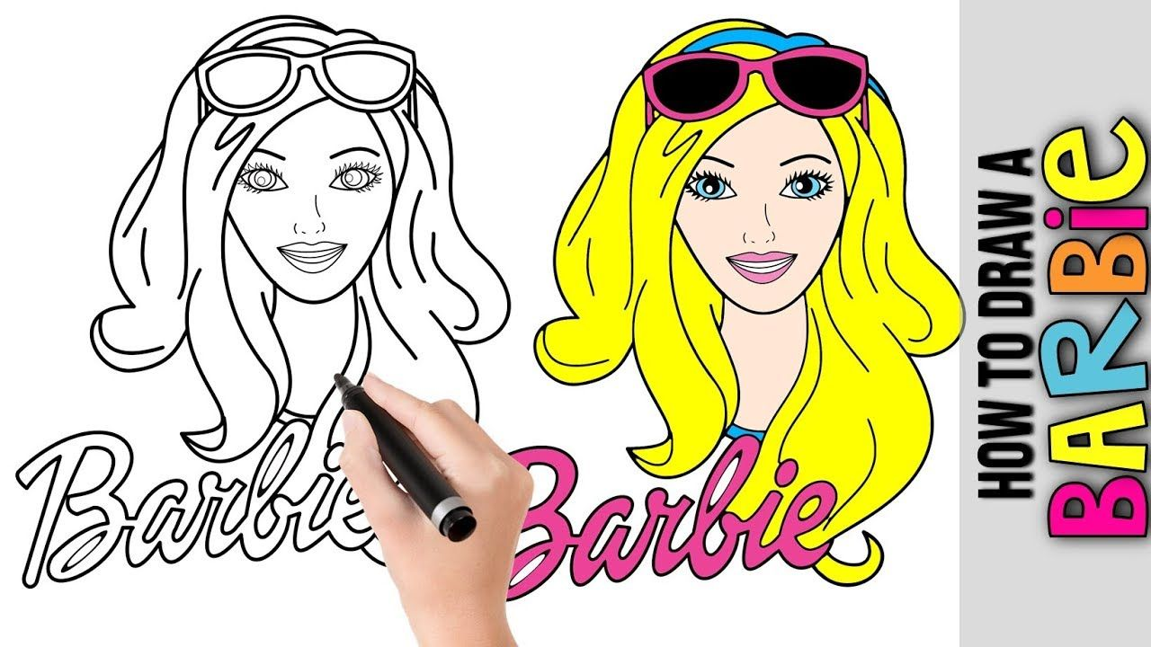 How To Draw A Cute Barbie Doll House Cute Easy Drawings