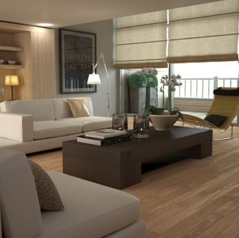 1000 images about parquet on pinterest modern apartments skylights and modern farm houses - Idee Deco Salon Beige Taupe