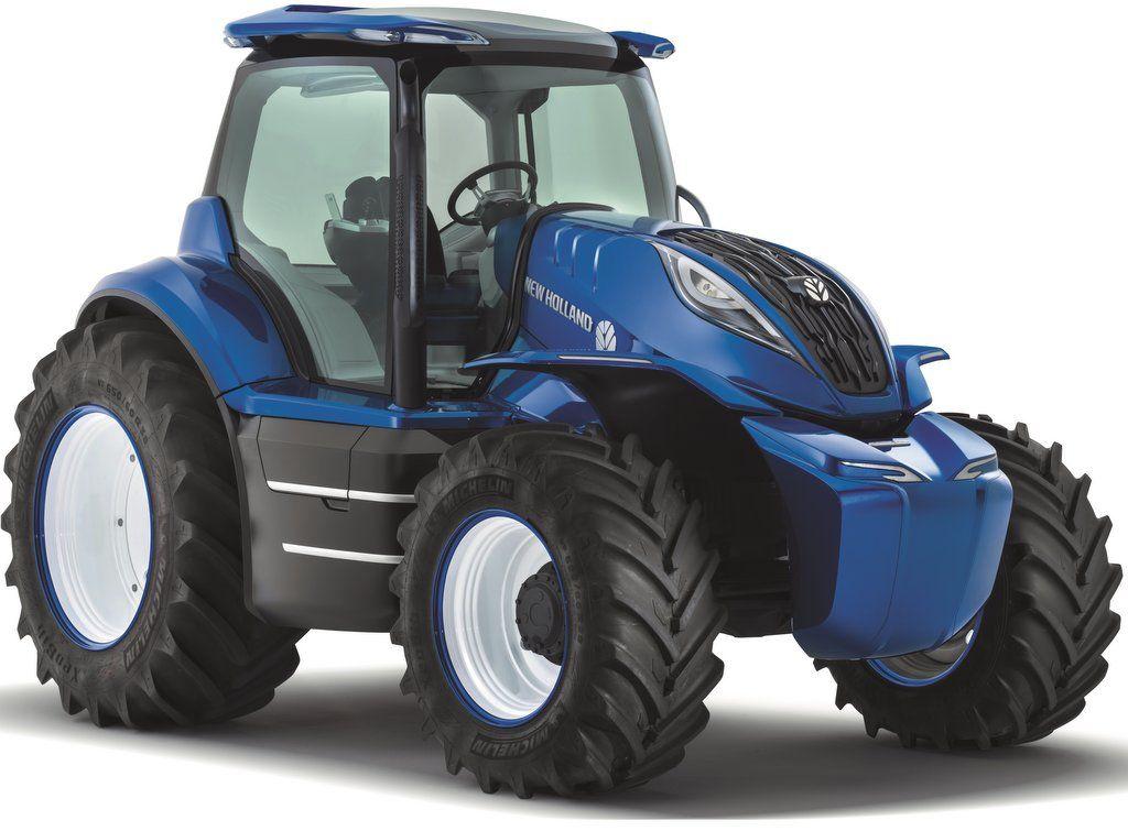 New Holland Creates Future Tractor Concept News Farmers