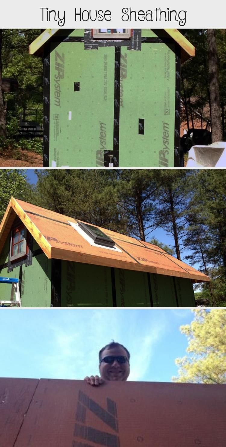 Don T Sheath Your Tiny House Before Reading This Learn The Tricks To Framing Correctly So The Seams Line Up What Material In 2020 Tiny House Sheathing Diy Tiny House