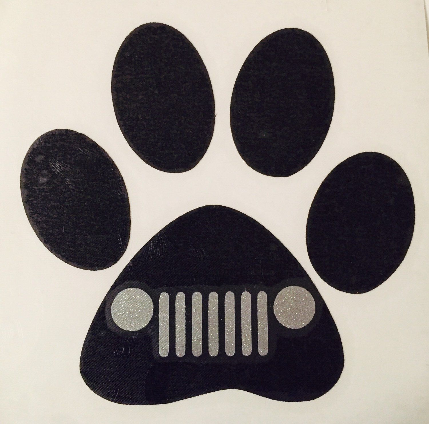 Heart and dog paw decal jeep grill dog vinyl decal sticker dog car decal i love dogs decals dog love car decal by kirkwoodboutique on etsy