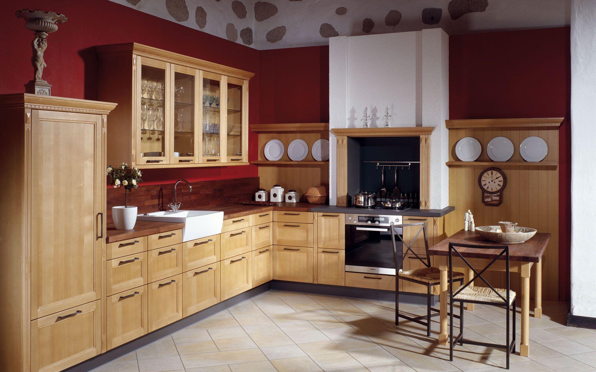 Moderne Landhausküchen landhausküche eiche landhausküchen kitchens