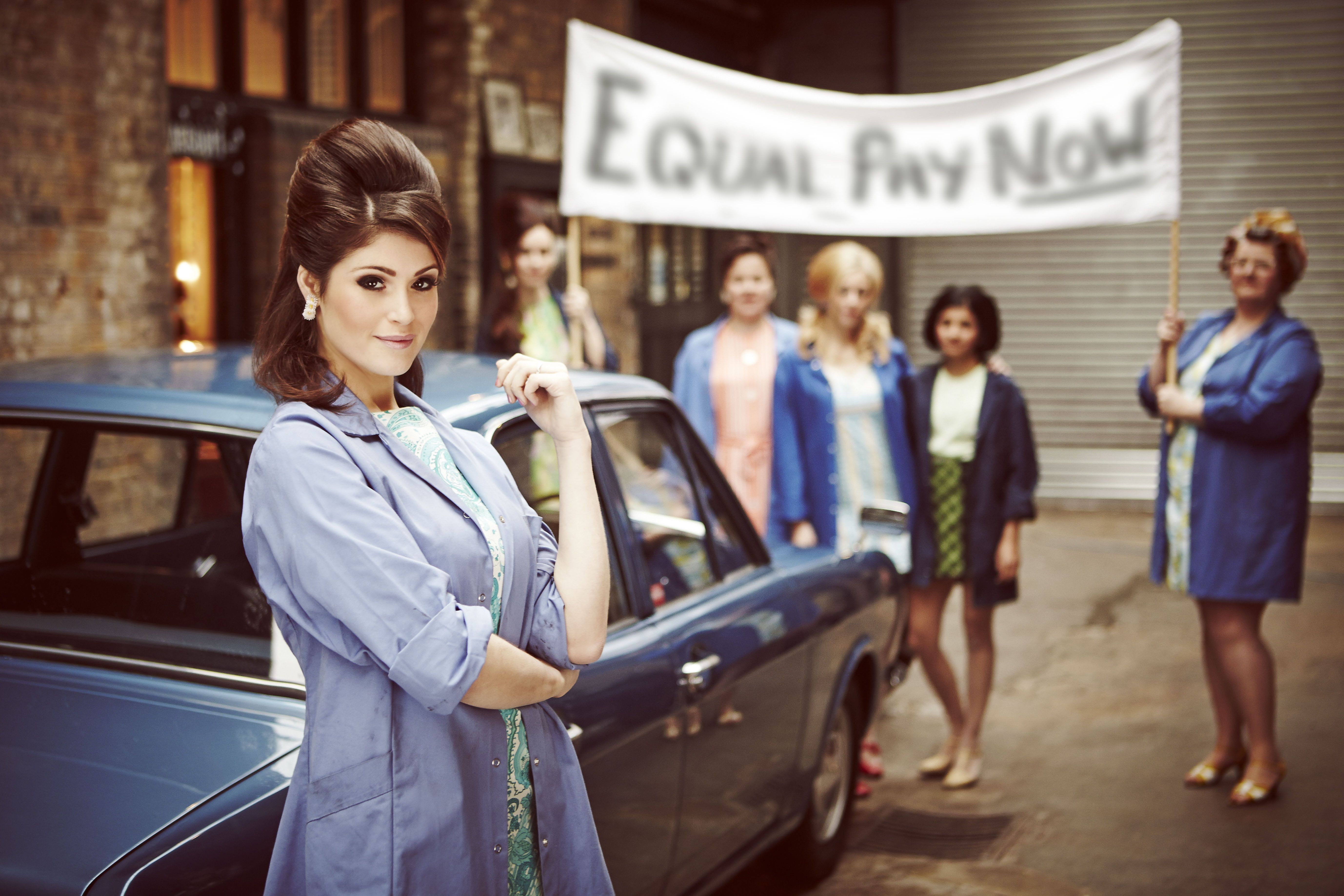 Your 1st Look At Gemmaarterton In The Forthcoming New Musical