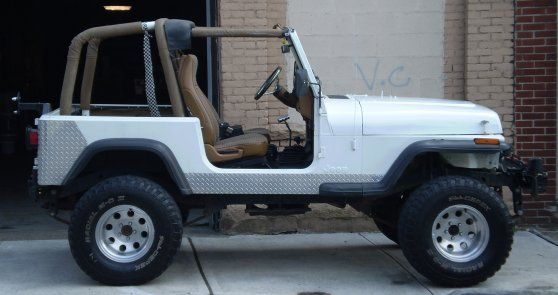 1995 Jeep Wrangler Last Year Of The Yj Interior Styling Amc S Straight 6 Engine Amc Parts Jeep Wrangler Interior Jeep Wrangler Jeep Gear