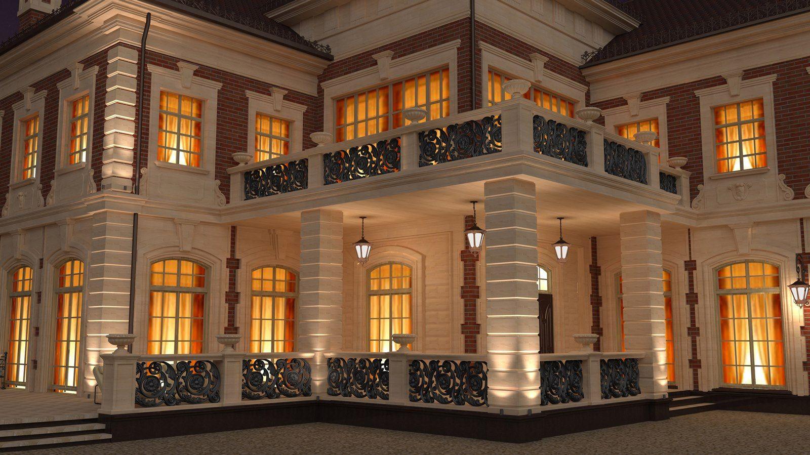 Фасады. Эксклюзивный дизайн интерьера и экстерьера Москва ...