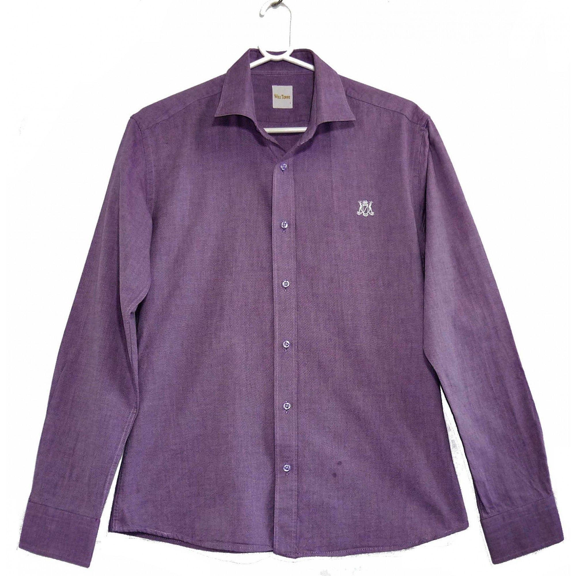 86b69330768 Интернет магазин секонд хенд предлагает купить Рубашка Will Torre по НИЗКОЙ  цене с бесплатной доставкой