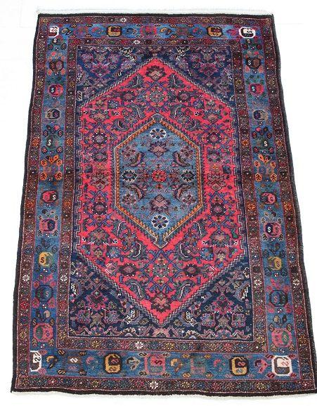 57554 Kurdish Persian 4.3x6.8 ft. #persiancarpet #kurdish