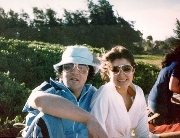 {*Elvis with girlfriend Ginger Alden on holiday in Hawaii, March 1977, 5 months before Elvis's death*}