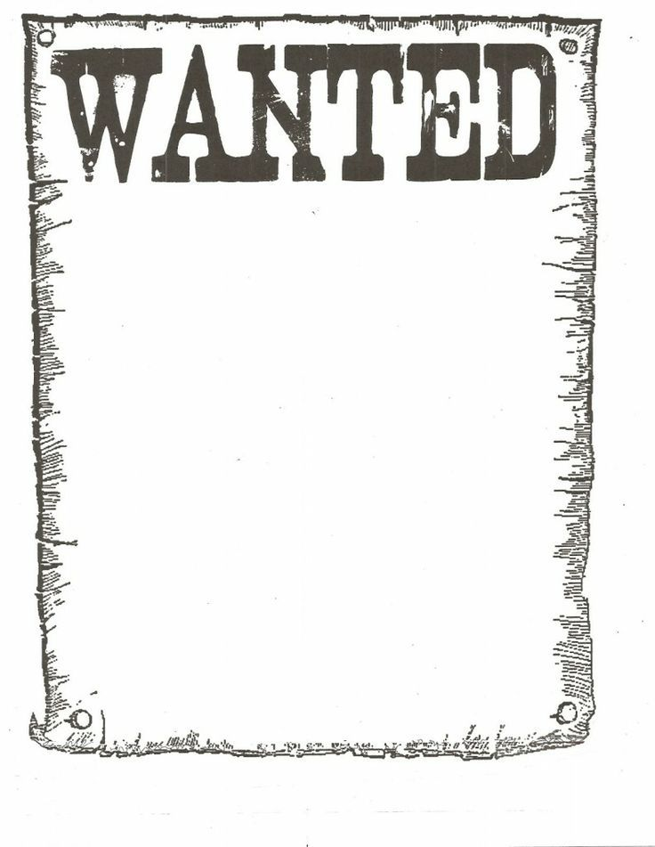 wanted poster template - Google Search | philip\'s board | Pinterest