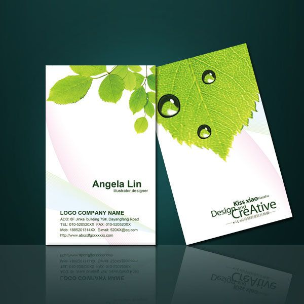 Green environmental protection business card design and appreciation green environmental protection business card design and appreciation of the psd templates card http colourmoves Images