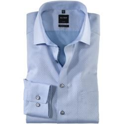 Photo of Olymp Luxor Shirt, modern fit, Global Kent, Bleu, 45 Olympolymp