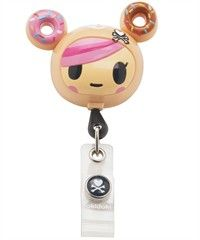 Koi Scrubs Tokidoki Donutella Retractable Badge Reel  82cc89f891