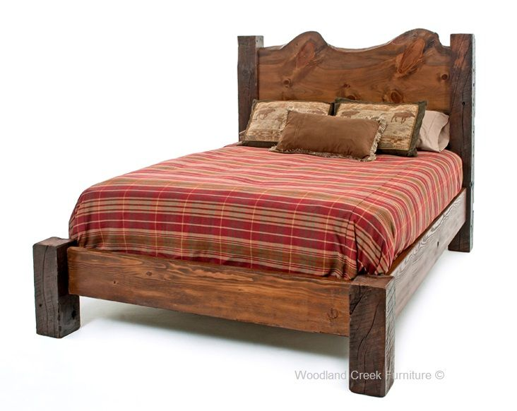 this beautiful barn wood bed with natural slab is not only unique and beautiful but it i. Black Bedroom Furniture Sets. Home Design Ideas