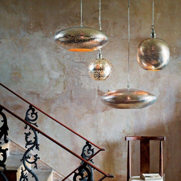 Lamparas Lamparas Pinterest Escalera, Luces y Para el hogar - lamparas para escaleras