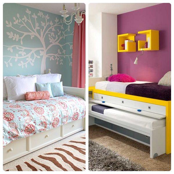 C mo decorar habitaciones infantiles peque as - Habitaciones infantiles compartidas pequenas ...