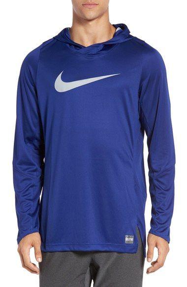 NIKE 'Dry Elite' Hooded Basketball Top. #nike #cloth #