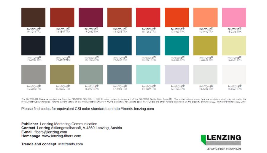 fashion color trends autumn winter 2017 2018 colori trends pinterest. Black Bedroom Furniture Sets. Home Design Ideas