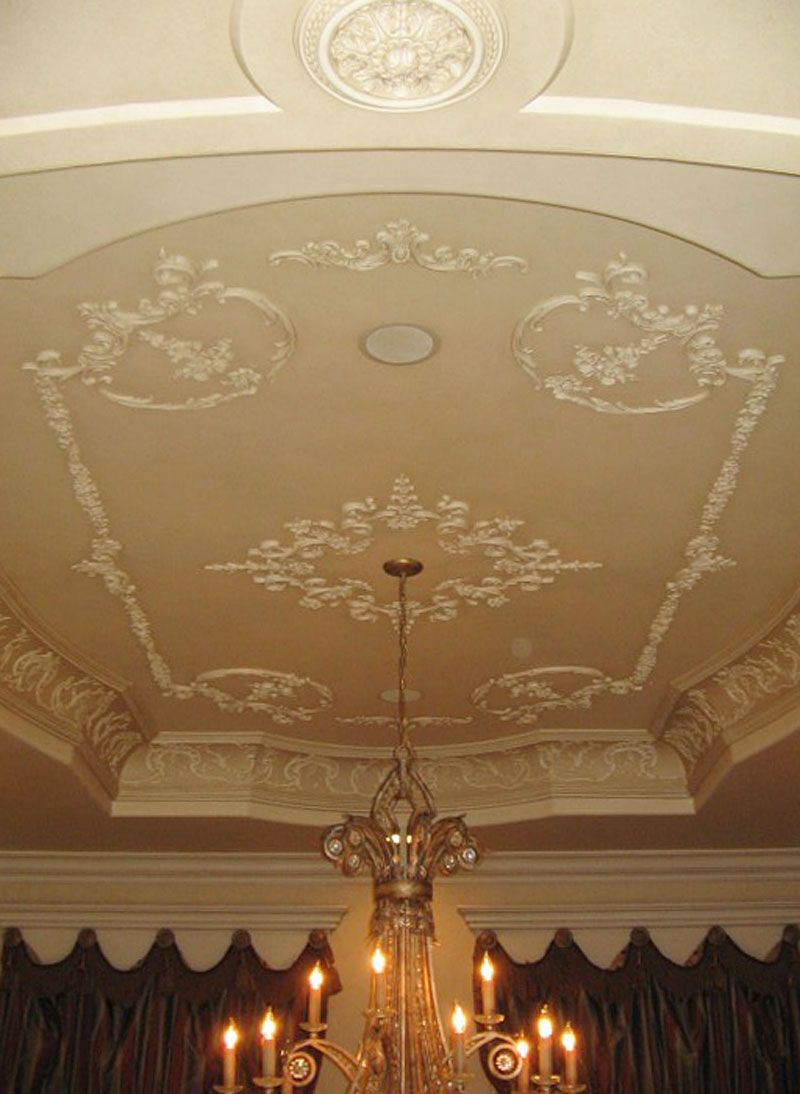 Plaster Ceiling Relief With Images