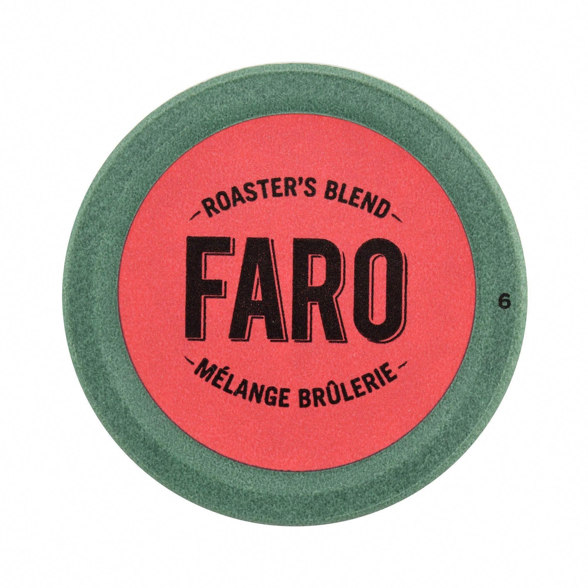 Faro Roaster's Blend, Medium Roast Coffee, 100