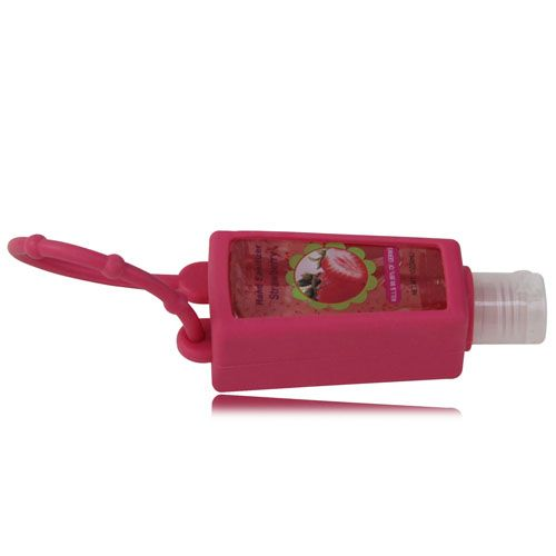 Custom Printed Hand Sanitizer With Silicone Holder Hand