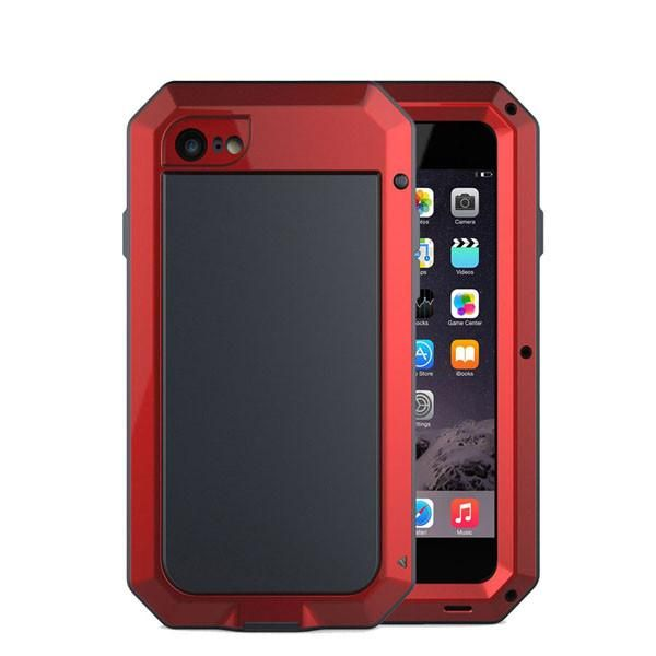 11fb245e82 Waterproof Case for iphone 8 8plus X Luxury Doom Armor Dirt Shock Metal  Phone Cover for iphone 8 8 Plus+1pcs Tempered glass gift | Underwater |  Iphone, ...