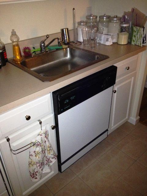 under sink dishwasher space saver