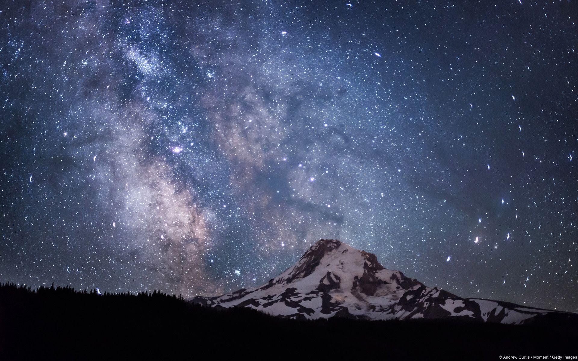 Wallpapers Milky Way Starry Night Images Desktop Background Pictures