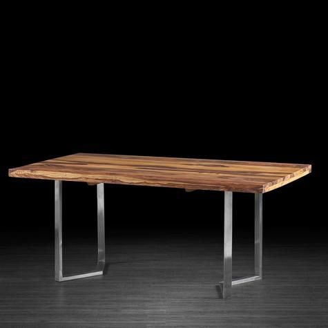 Lisa Dining Table In Rosewood With Silver Legs Artemano Stol