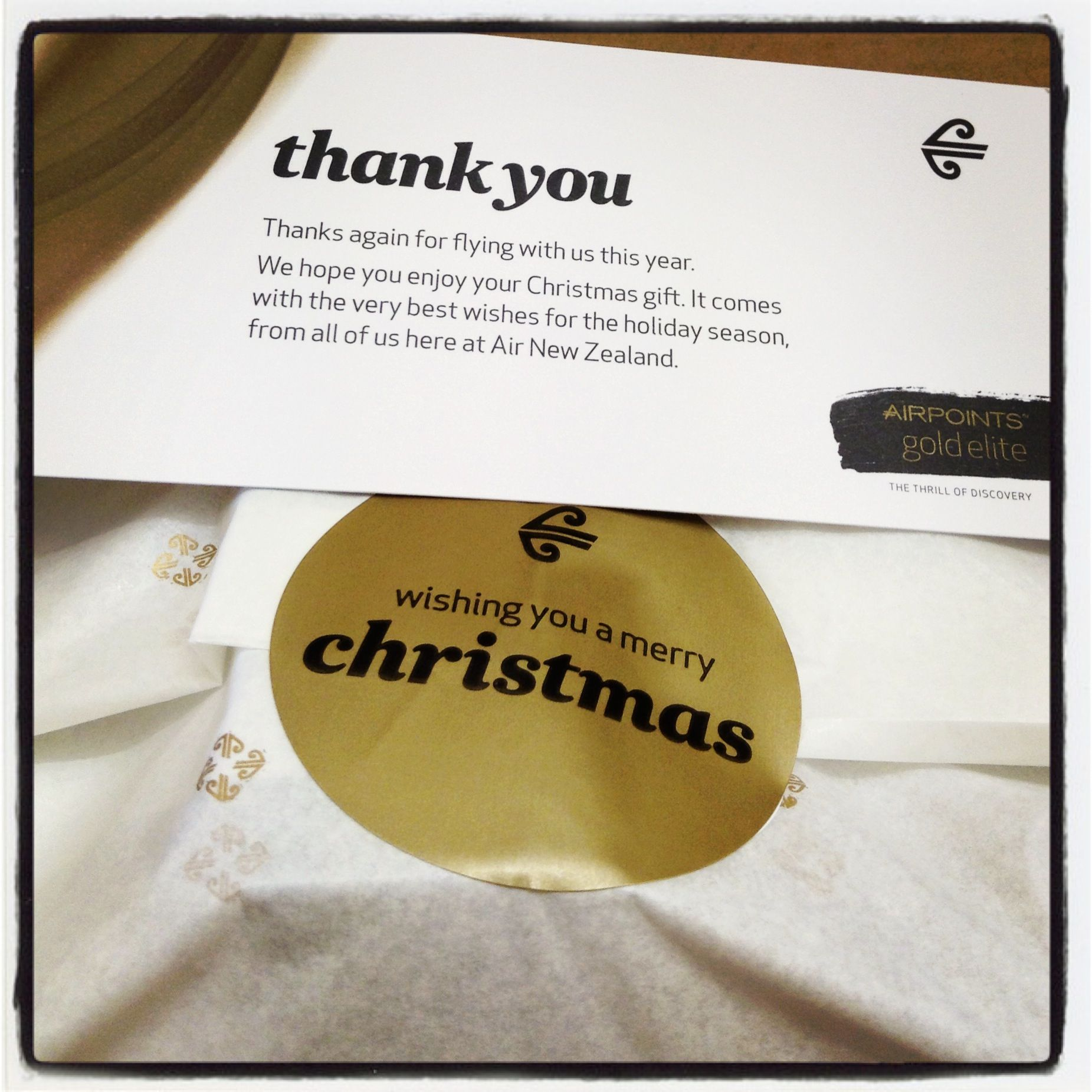 Merry Christmas From Air New Zealand Thanks For The Christmas Gift Christmas Gifts Merry Christmas Holiday Season