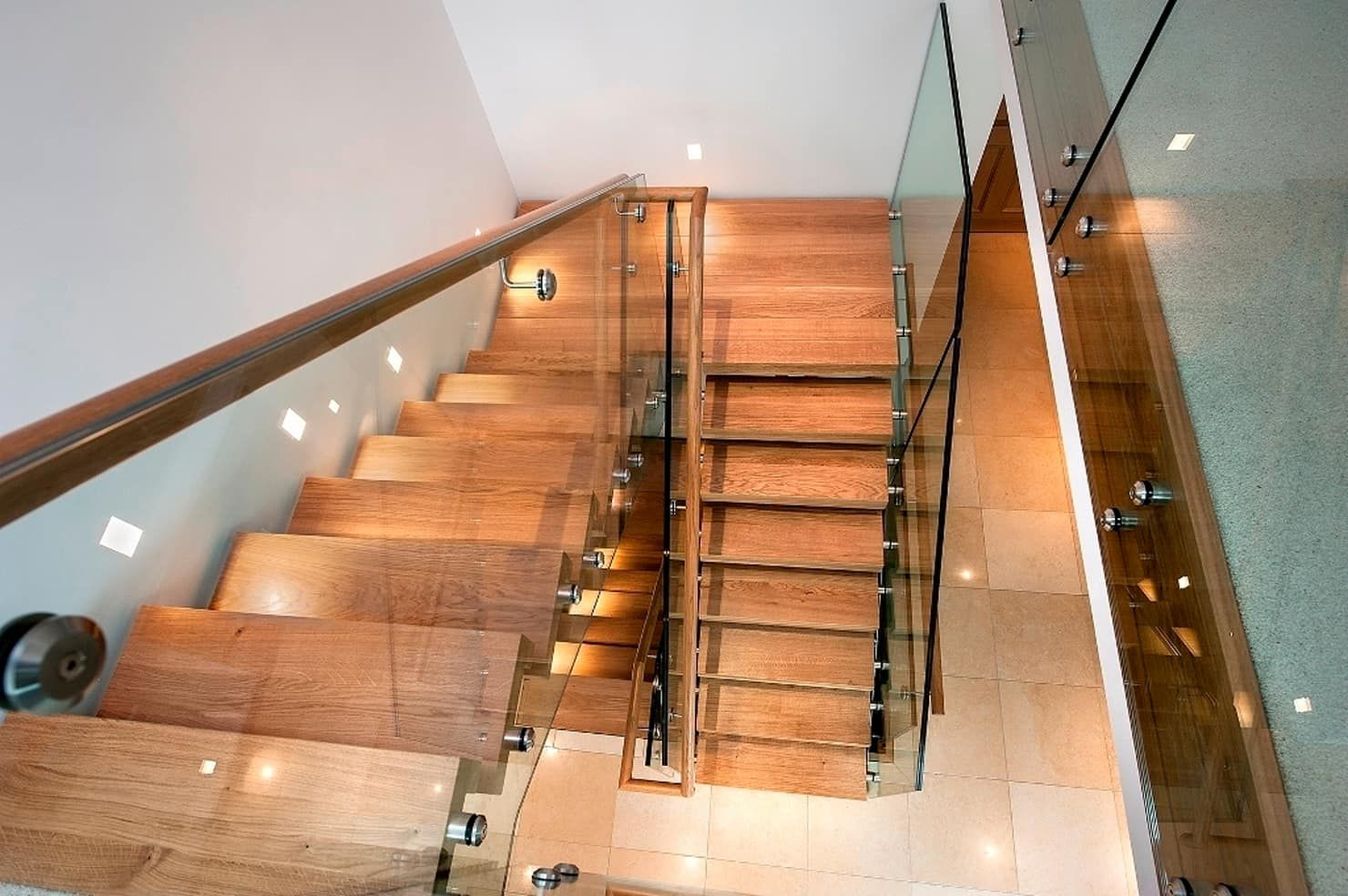 Best Double Central Spine Staircase Modern By Smet Uk 400 x 300