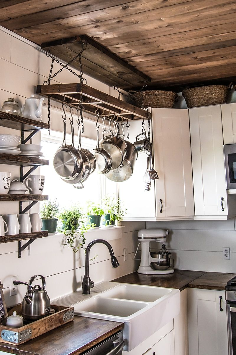Photo of How to Build a DIY Pot Rack and Secure it to Your Ceiling